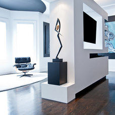 Contemporary Home Theater by Atmosphere 360 Studio