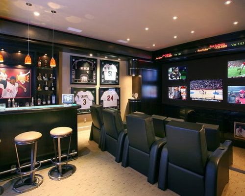 Sports Bar Home Design Ideas Pictures Remodel And Decor