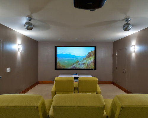 simple home theater design ideas remodels amp photos houzz dedicated home theater room installations from listenup