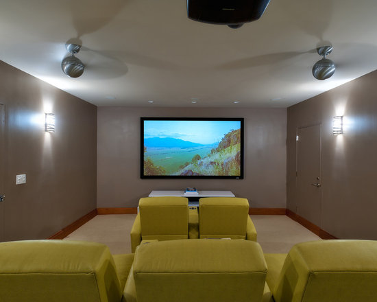 SaveEmail. Contemporary Media Room