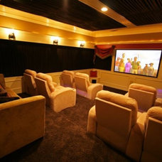 Eclectic Home Theater Copper model