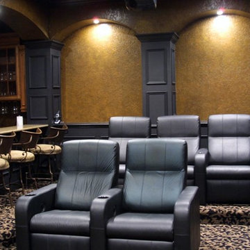 Cozy Home Theater