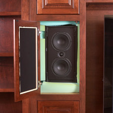 Traditional Home Theater by A Cut Above, Inc.