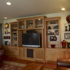 Traditional Home Theater by Closet & Storage Concepts