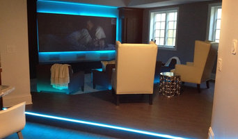 Custom Home Theater and Entertainment Space