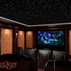Traditional Home Theater by SuperVision