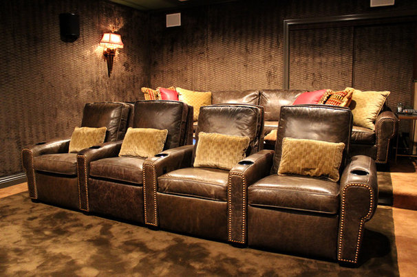 Traditional Home Theater by IDS Audio Video & Technologies