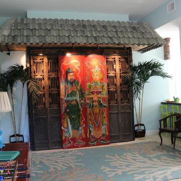 Design Projects - White Surf Seaside Home - Vero Beach - Shanghai Green Antiques