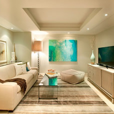 Modern Home Theater by DKOR Interiors Inc.- Interior Designers Miami, FL