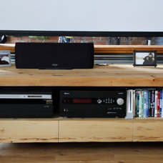Industrial Home Theater by Esther Hershcovich