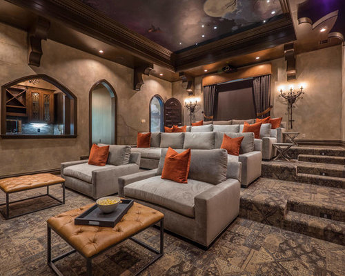 Home theater ideas houzz design.