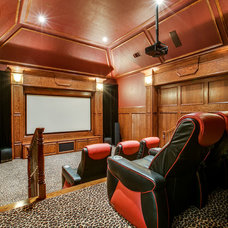Traditional Home Theater by Shoot2Sell.net