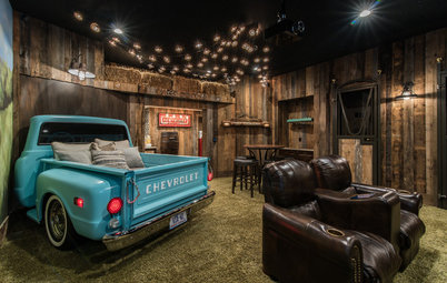 Basement of the Week: An Indoor Drive-In Theater