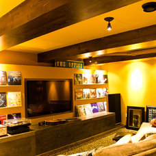 Eclectic Home Theater Eclectic Home Theater