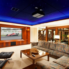 Home Theater by Closet Organizing Systems