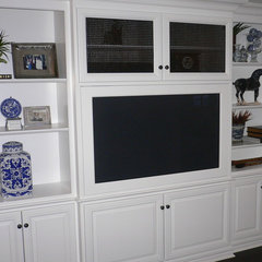 traditional media room by Dave Lane Construction Co.