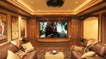 entertainment system installation
