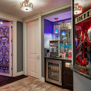 Entrance to Home Theater with Ticket Window