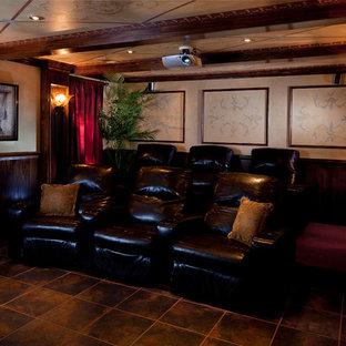 Exemple d'une salle de cinéma victorienne.