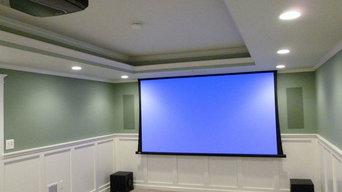 Family Media Room & Theater