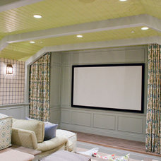 Traditional Home Theater by Harman Wilde