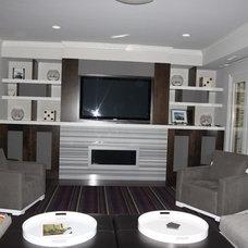 Home Theater by Grainda Builders, Inc.