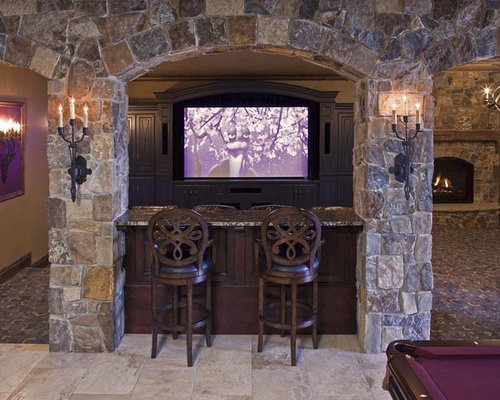 stone bar ideas pictures remodel and decor. Black Bedroom Furniture Sets. Home Design Ideas