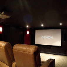 Home Theater by GGC Construction