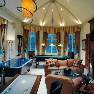 75 Most Popular Eclectic Home Theater Design Ideas For