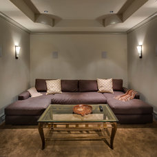 Home Theater by Frankel Building Group