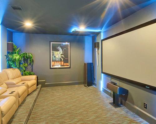 modern dallas home theater design ideas remodels photos houzz
