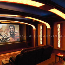 Modern Home Theater by Marioarts