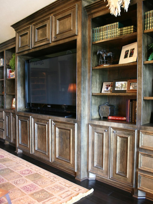 Painted Entertainment Center Ideas, Pictures, Remodel and Decor