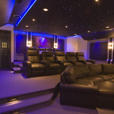 Contemporary Home Theater by Gramophone