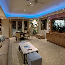 Modern Home Theater by Cantoni