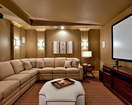 50 Best Traditional Home Theater Pictures Traditional