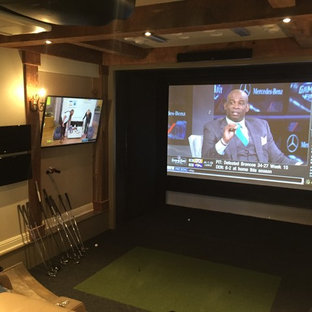 Golf Simulator/ Media Room