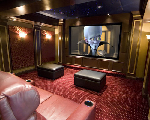 Home Theater Design Ideas image of home theater design flooring Best Home Theater Design Ideas Remodel Pictures Houzz