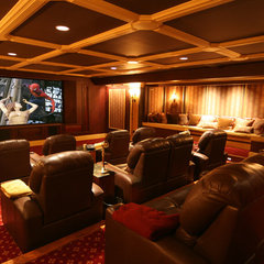 traditional media room by Gramophone