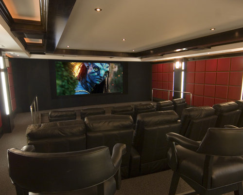 In-home Movie Theater | Houzz