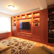 Modern Home Theater by k2studio