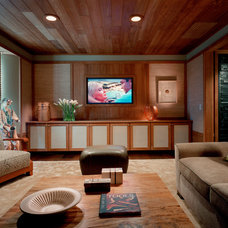 Contemporary Home Theater by BarlisWedlick Architects, Tribeca Studio