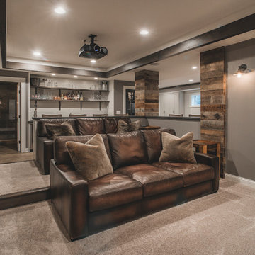 Harlan Court | Finished Lower Level