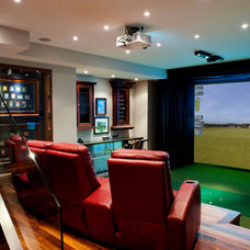 Traditional Home Theater HD Golf Simulators