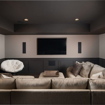 Heavenly Home Theater Room