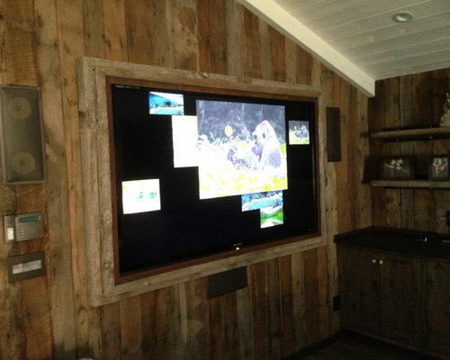 rustic los angeles home theater design ideas remodels traditional los angeles home theater design ideas