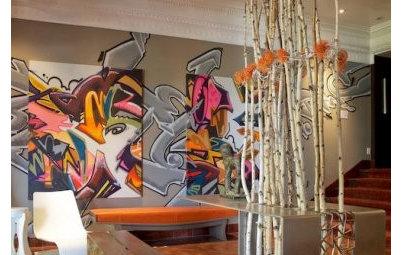 Graffiti as Décor: Street Art Comes Home