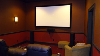 Home Cinema Installation in Greenville, SC