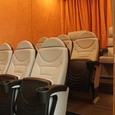 Eclectic Home Theater by GETECA, A Knoll Dealer