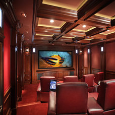 Traditional Home Theater by Audio Concepts
